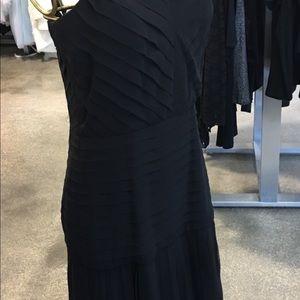 Roland nivelais  Black gown 100 silk